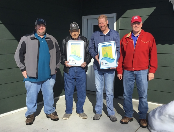 John & Andrew Boen Farms Achieve Water Quality Certification